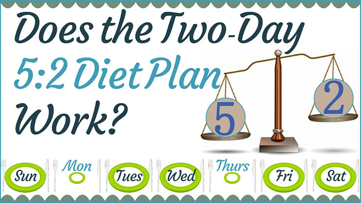 Learn more about the 5:2 diet plant and how to make it work for you