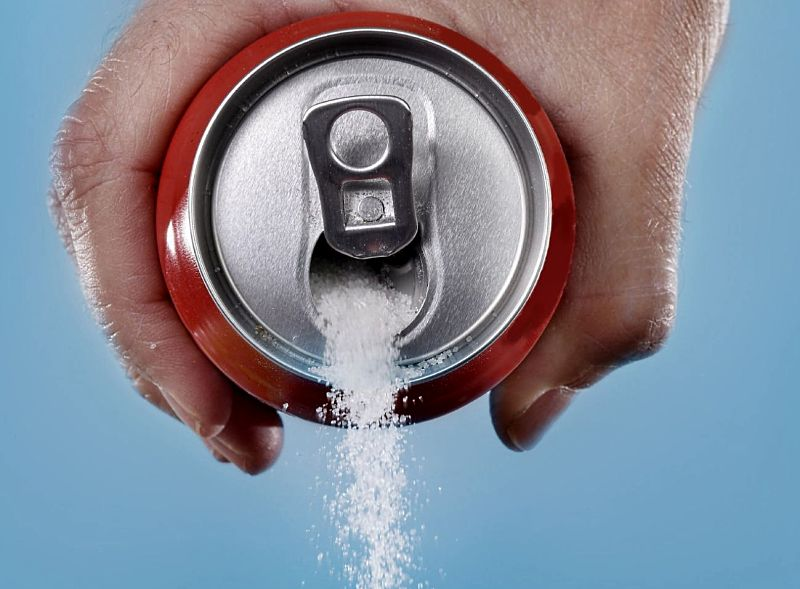 If you drink sodas you are pouring sugar into your mouth