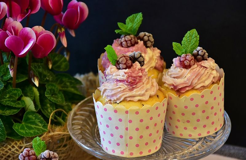 Many treats such as these cup cakes are stuffed with sugar