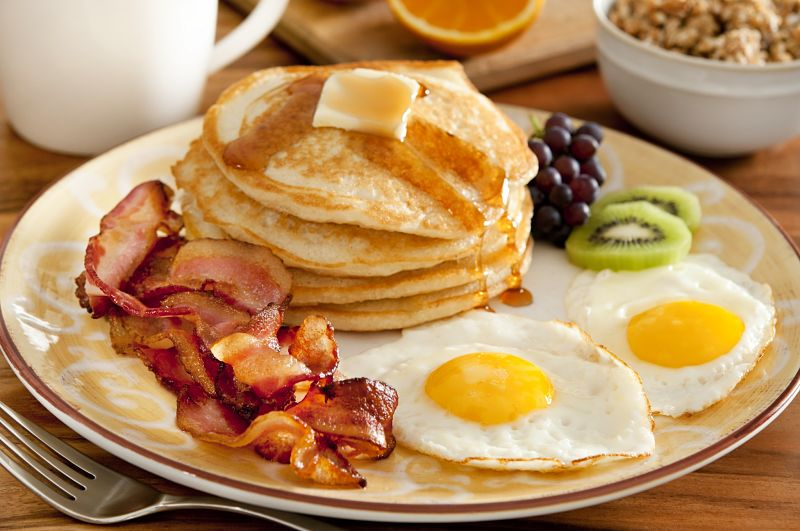 Does a big breakfast set you up for the day so you feel less hungry and less prone to snacking?