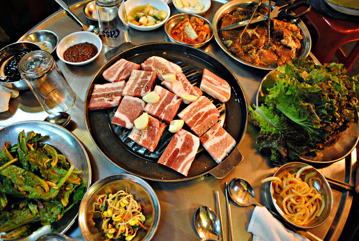 Korean barbecue can be a healthy choice if you carefully select the healthiest side dishes