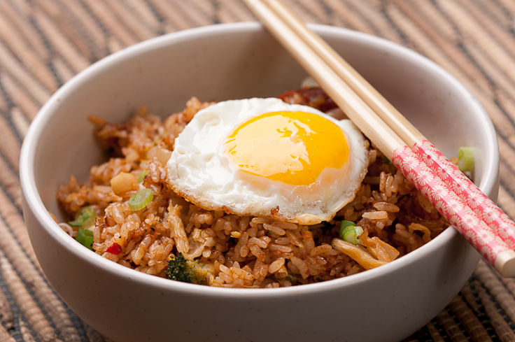 Most rice dishes have very high calories and may contain high fat as well. There are much healthier choices available.