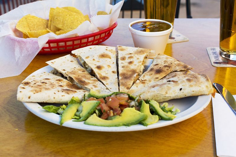 Mexican food can be a healthy choice compared wity French, Greek and Italian food.