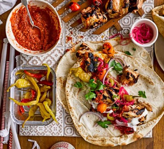 Turkish kebabs dare a very healthy choice when served with salads and low calorie side dishes