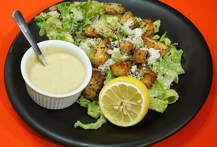 You can make Caesar salad dressings to suit your own tastes and preferences, including healthy options