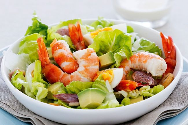 There is a great variety of Caesar salad dressings you can make at home using the great set of recipes in this article. Try this variety with fresh cooked prawns.