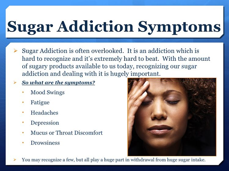 Sugar craving symptoms