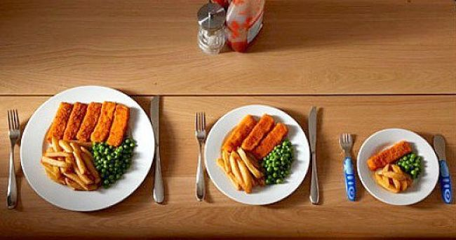 Reduce portion sizes to lose weight and keep it off