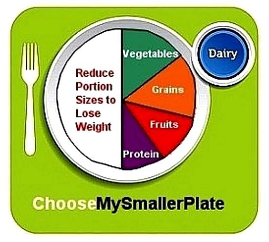 The smaller MyPlate