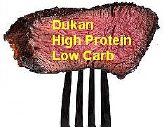 Dukan Diet - High protein, Low Carb