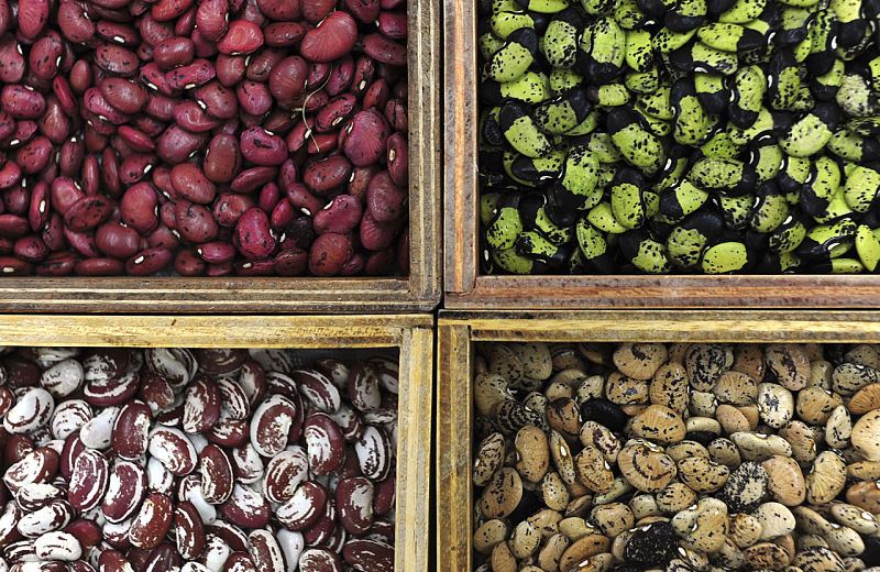 Most bean varieties are a rich source of fiber and protein, but they are also rich in calories