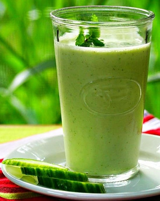 The classic green smoothie is very healthy - learn why here