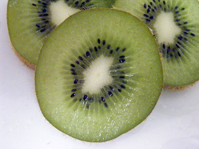 Kiwi fruit is a great way to add Vitamin C and other nutrients to a green smoothie