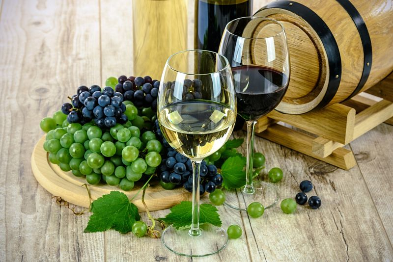 Savor the taste of wine by swirling around your mouth and enjoying the aromas